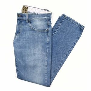 Rich & Skinny Fancy Vintage Wash Straight Leg Jean
